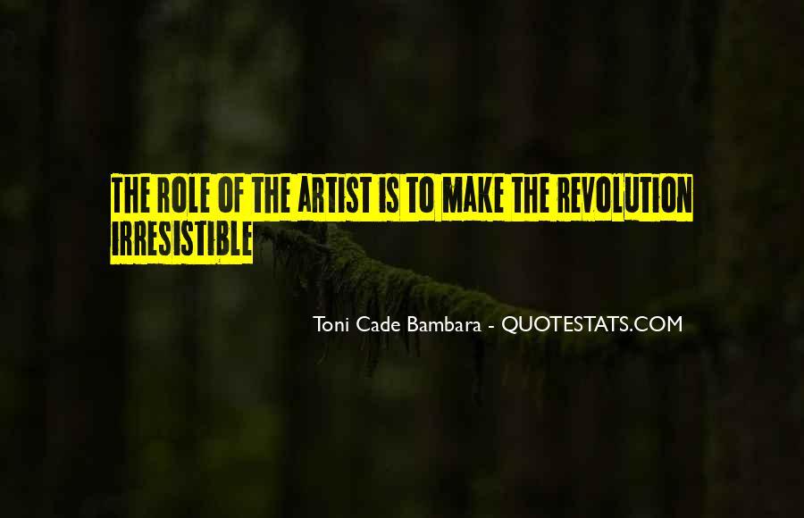 Toni Cade Bambara Quotes #525304