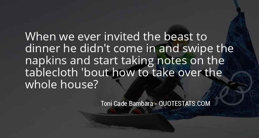 Toni Cade Bambara Quotes #73901