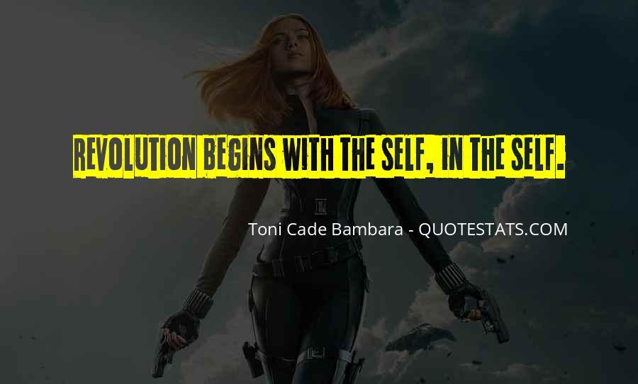 Toni Cade Bambara Quotes #849900