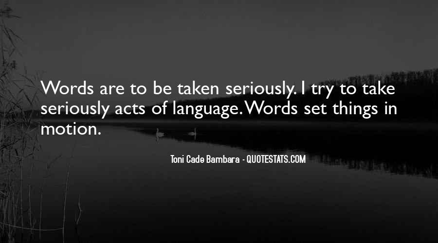 Toni Cade Bambara Quotes #865753