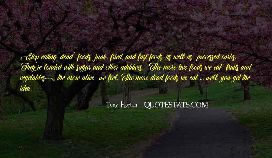 Tony Horton Quotes #1168703
