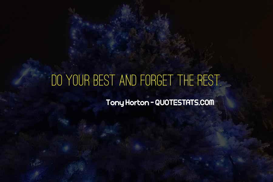 Tony Horton Quotes #1186425