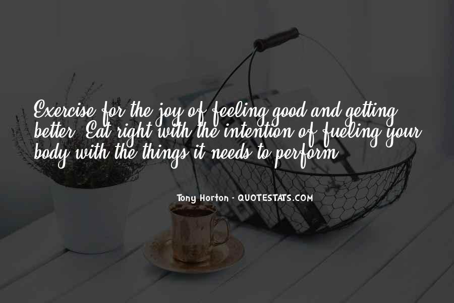 Tony Horton Quotes #493022