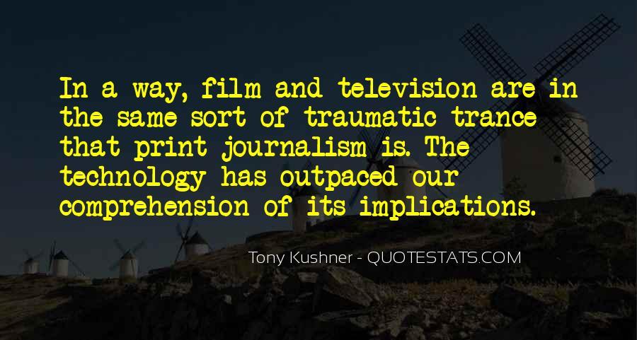 Tony Kushner Quotes #37871