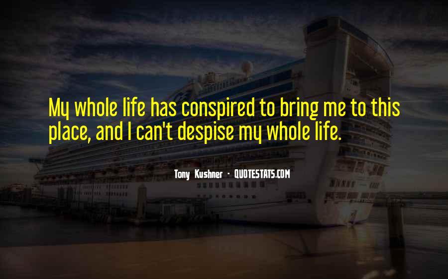 Tony Kushner Quotes #72035