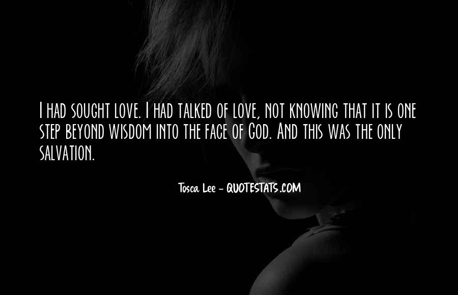Tosca Lee Quotes #399356