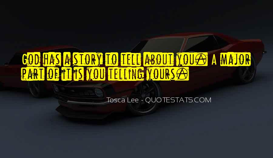 Tosca Lee Quotes #590983