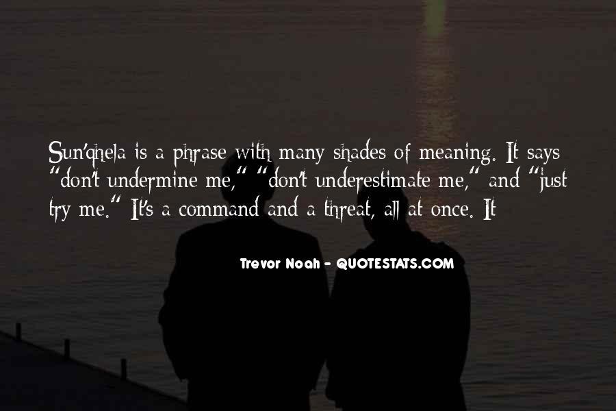 Trevor Noah Quotes #65554