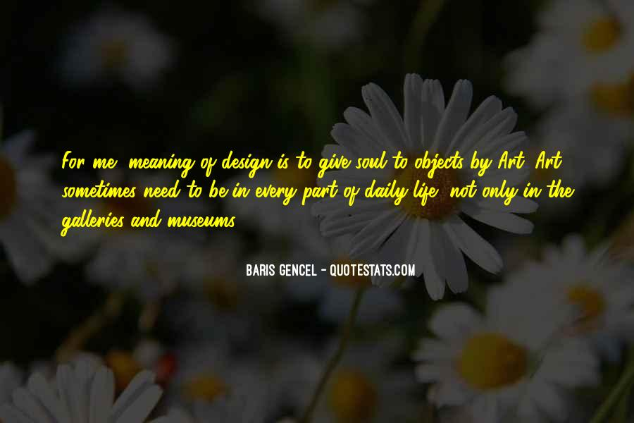 Quotes About Art And Design #1243711