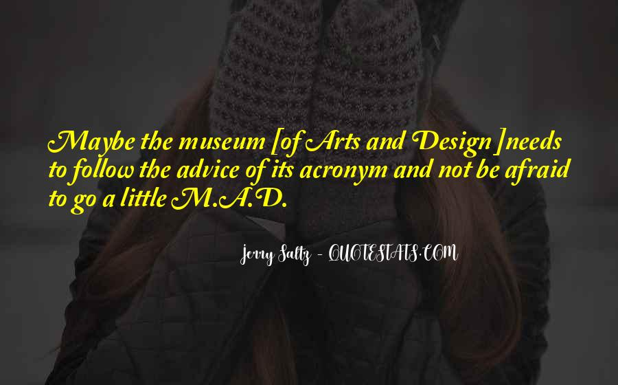 Quotes About Art And Design #64263