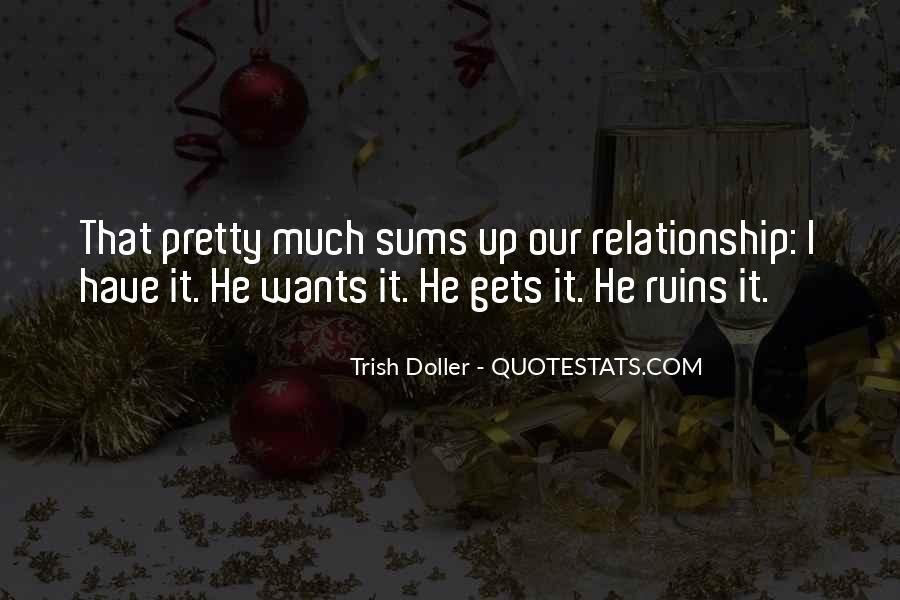 Trish Doller Quotes #409214