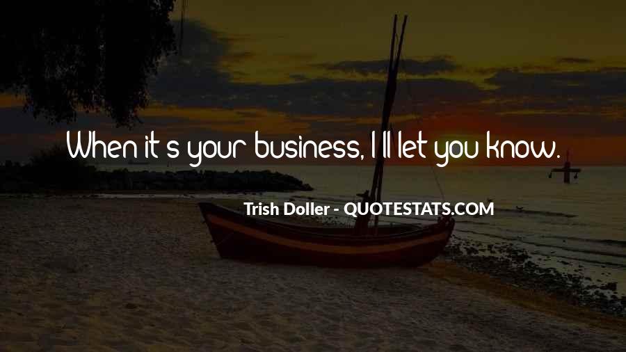 Trish Doller Quotes #776746