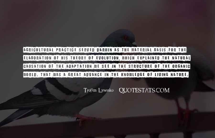 Trofim Lysenko Quotes #1695638