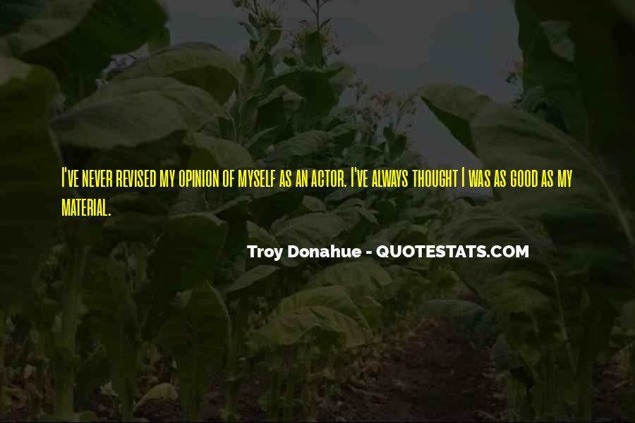 Troy Donahue Quotes #1107539