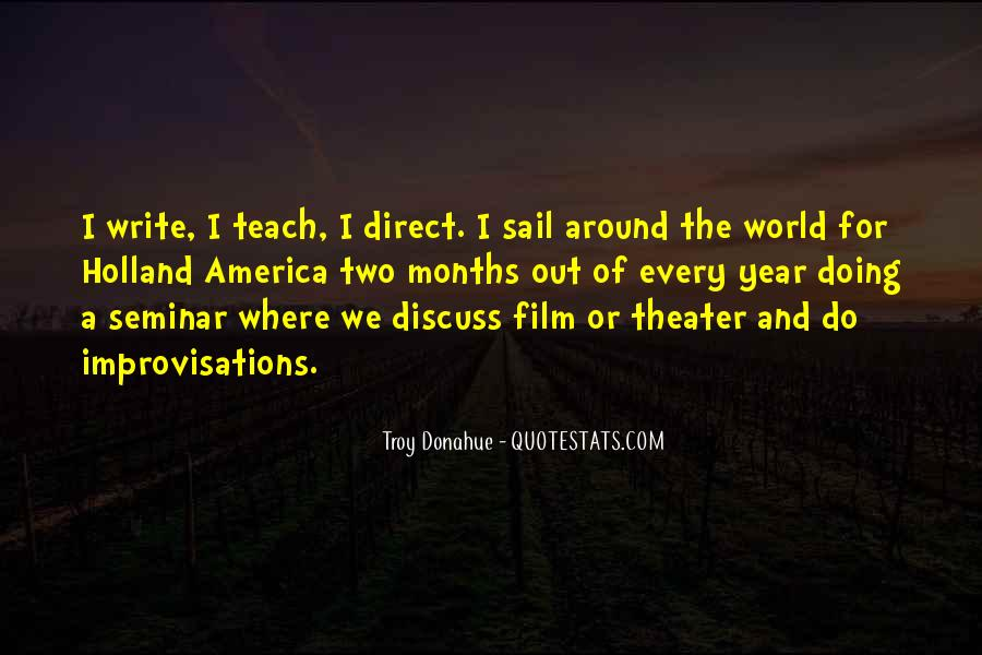 Troy Donahue Quotes #805007