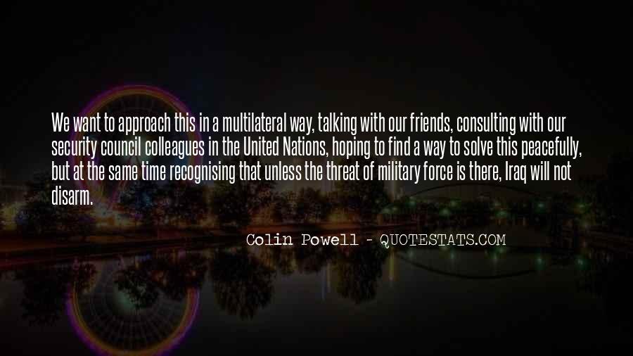 Quotes About The United Nations Security Council #1183215