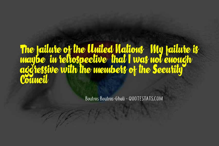 Quotes About The United Nations Security Council #1311670