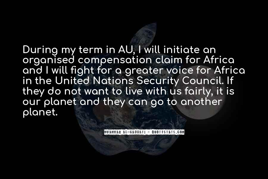 Quotes About The United Nations Security Council #1455261