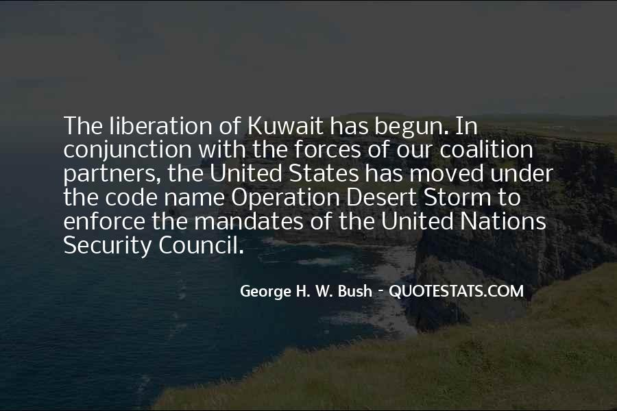 Quotes About The United Nations Security Council #300871