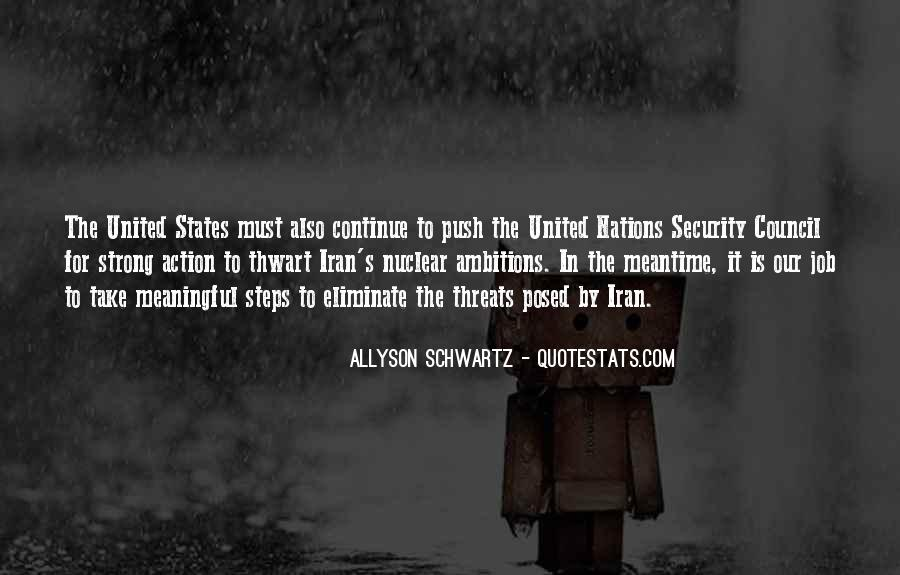 Quotes About The United Nations Security Council #536489