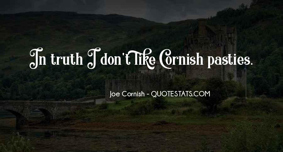Quotes About Cornish Pasties #380