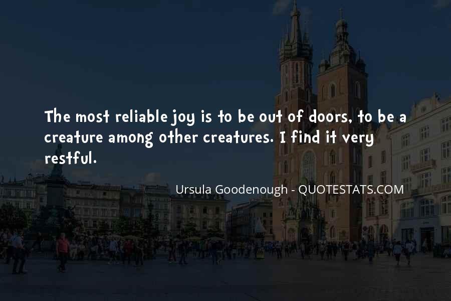 Ursula Goodenough Quotes #1275898