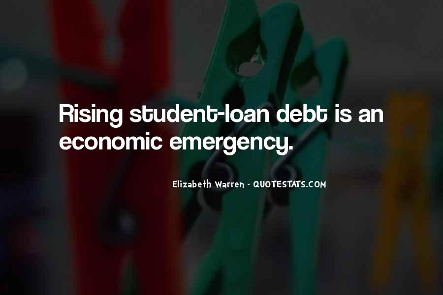 Quotes About Student Debt #109089