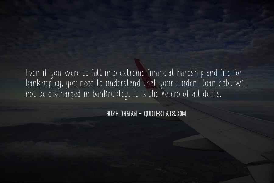 Quotes About Student Debt #1782255