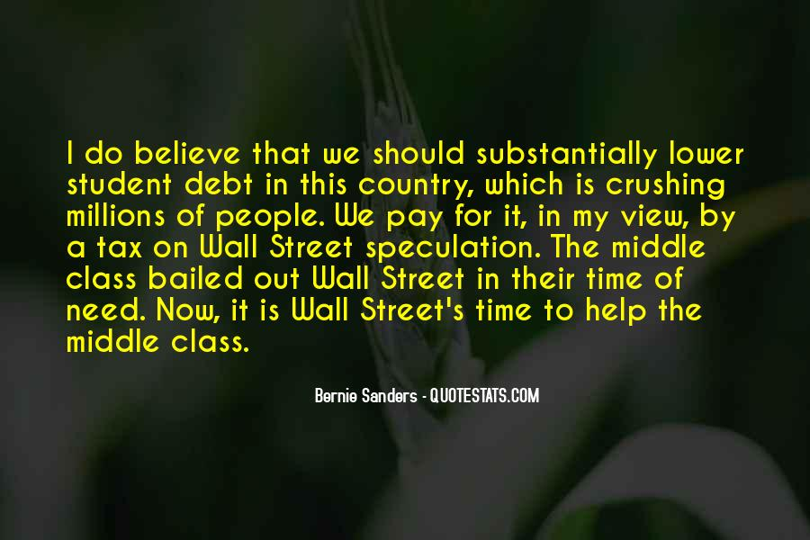 Quotes About Student Debt #191264