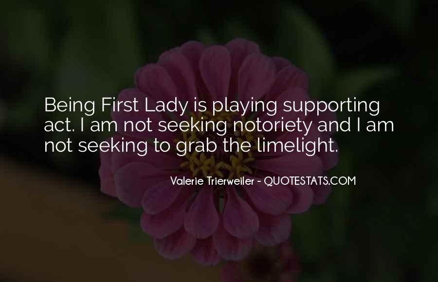 Valerie Trierweiler Quotes #1153606