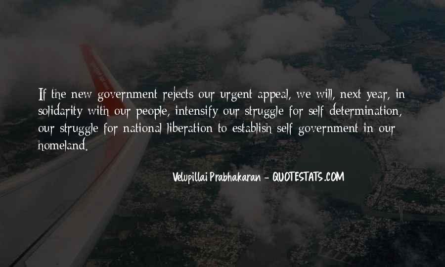 Velupillai Prabhakaran Quotes #1182041