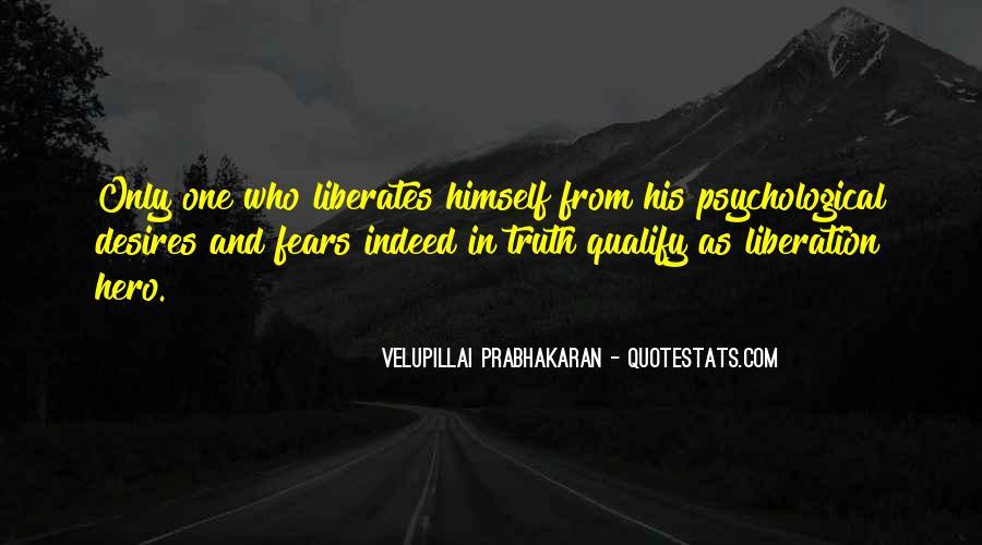 Velupillai Prabhakaran Quotes #268948