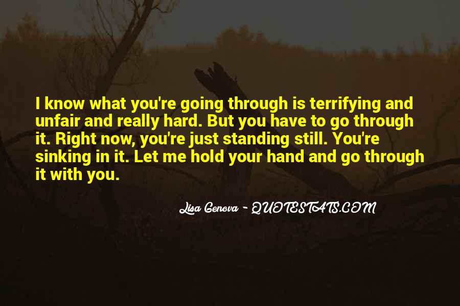 Quotes About Hard To Let You Go #676294