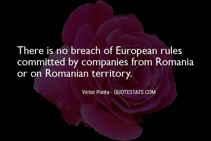Victor Ponta Quotes #604158