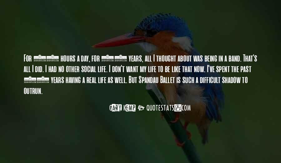 Quotes About Spandau #1262571