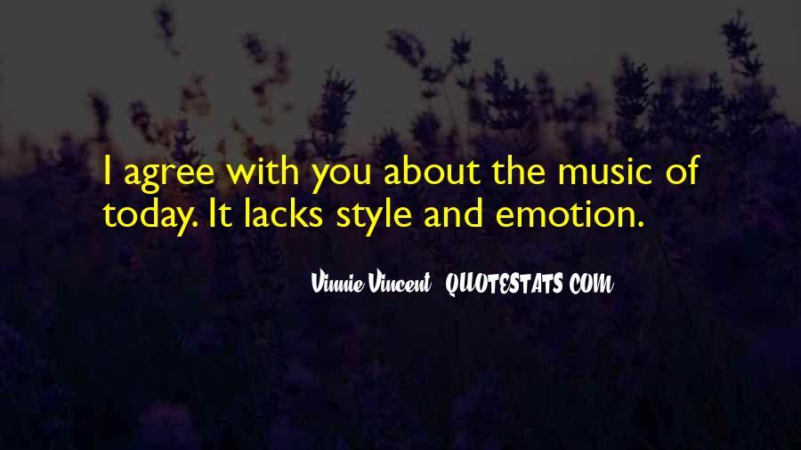 Vinnie Vincent Quotes