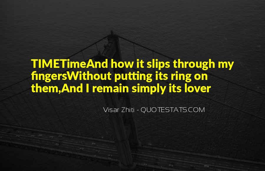 Visar Zhiti Quotes #1802454