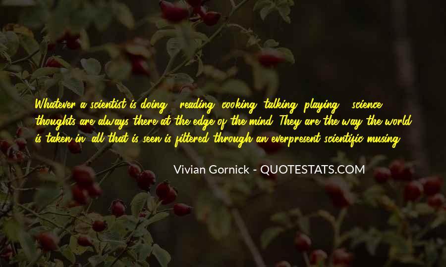 Vivian Gornick Quotes #1058507