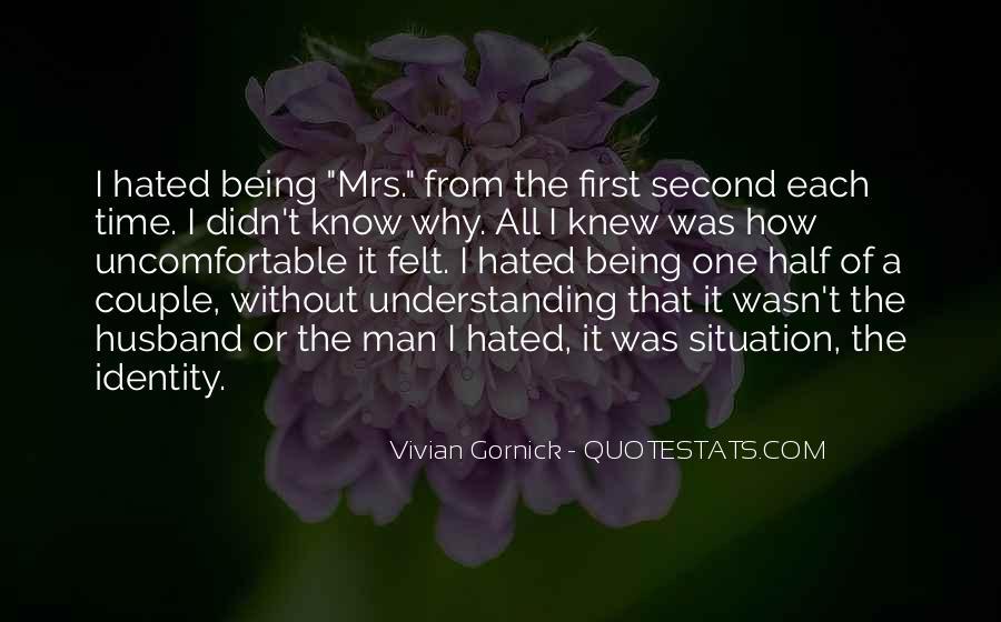 Vivian Gornick Quotes #1111956