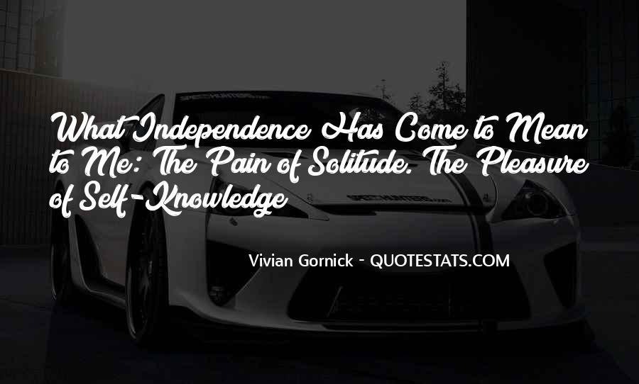 Vivian Gornick Quotes #1220996