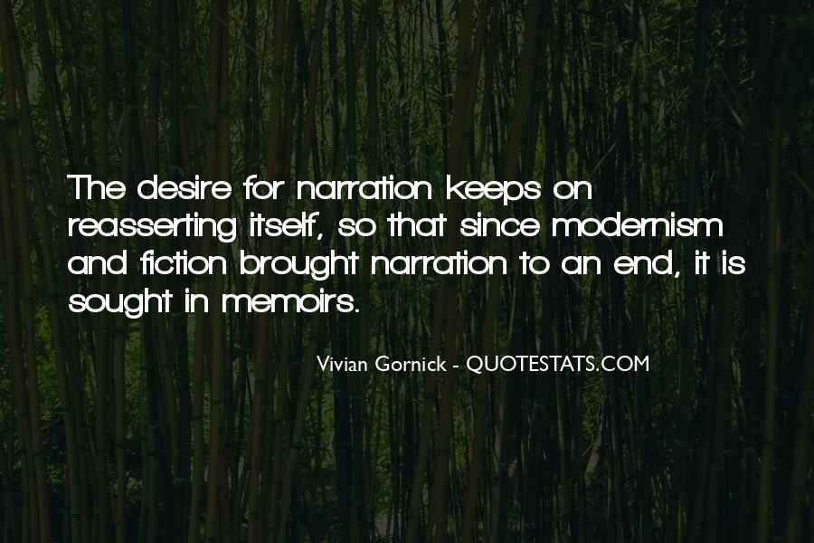 Vivian Gornick Quotes #1222620