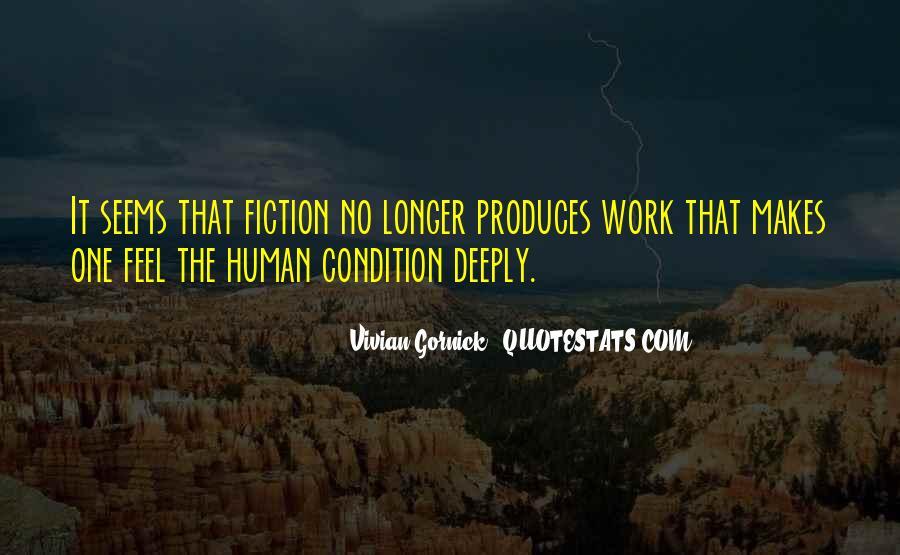 Vivian Gornick Quotes #1322183