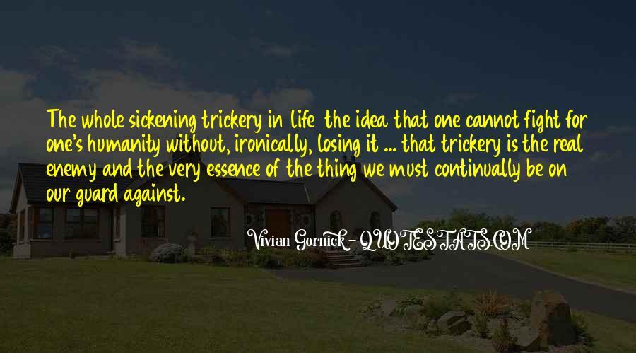 Vivian Gornick Quotes #1421427