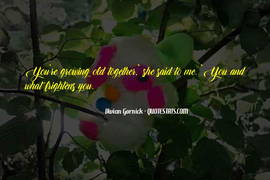 Vivian Gornick Quotes #1452811