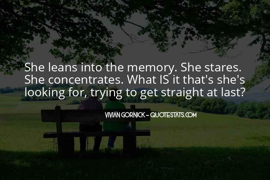 Vivian Gornick Quotes #1555722