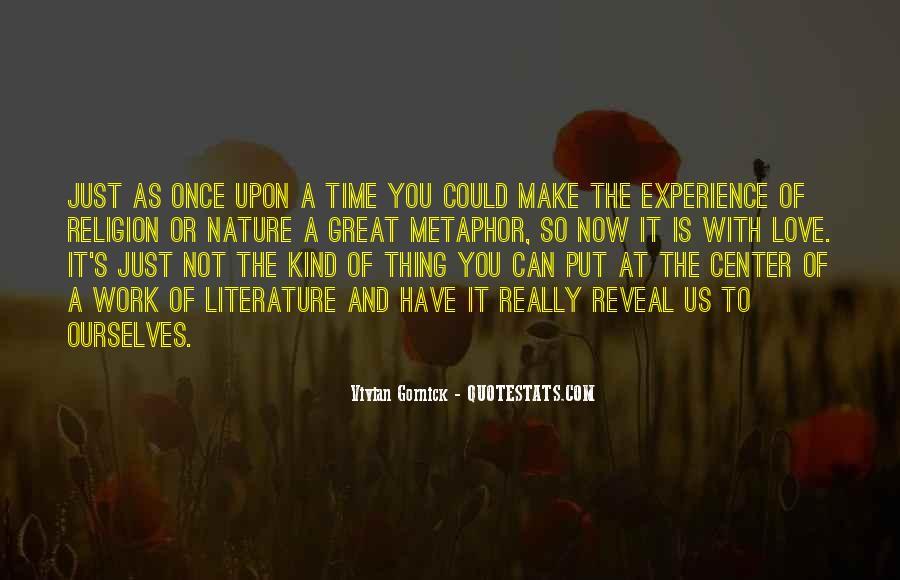 Vivian Gornick Quotes #1660113