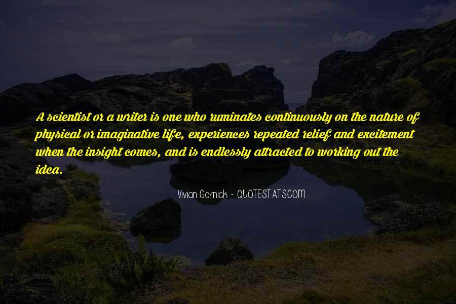 Vivian Gornick Quotes #1868369