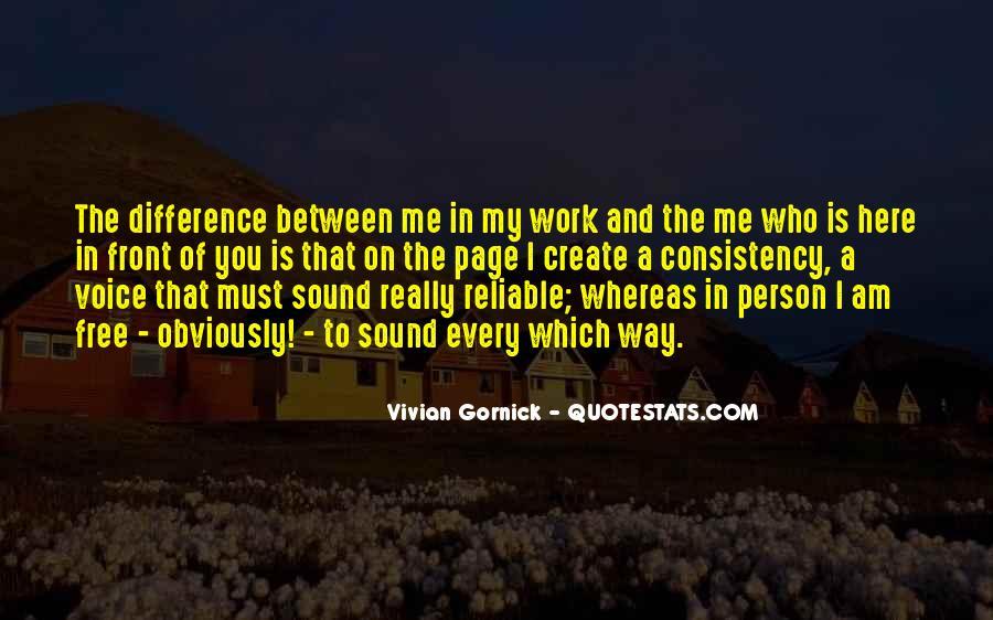 Vivian Gornick Quotes #197727