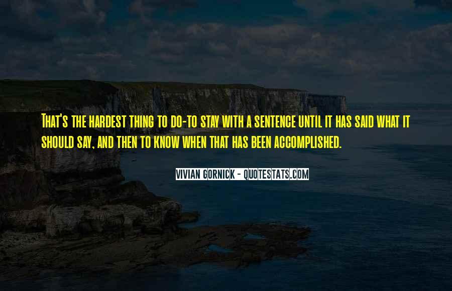 Vivian Gornick Quotes #22119