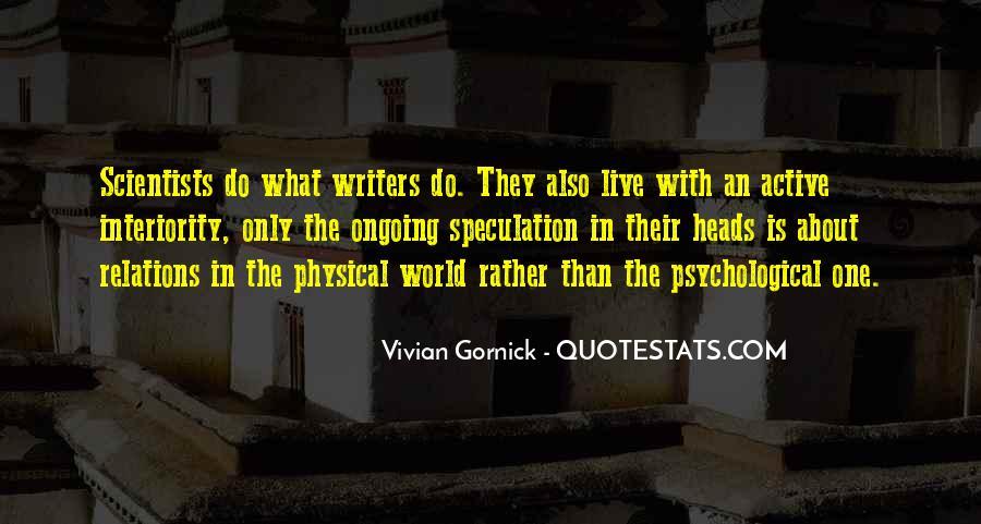 Vivian Gornick Quotes #265647